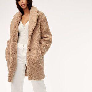 Aritzia Wilfred Free Teddy Coat XS